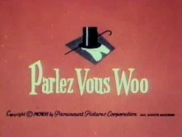 Popeye - Parlez Vous Woo