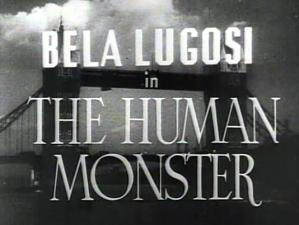 The Human Monster