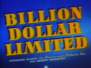 Superman – Billion Dollar Limited