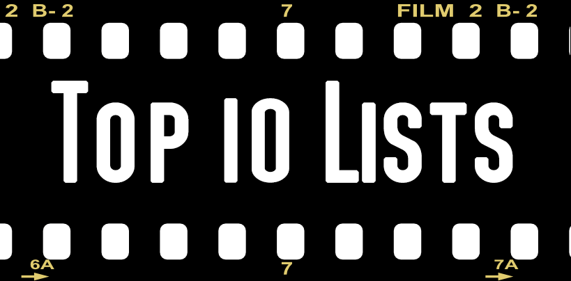 Top 10 Lists of the best and worst rated movies on the site.