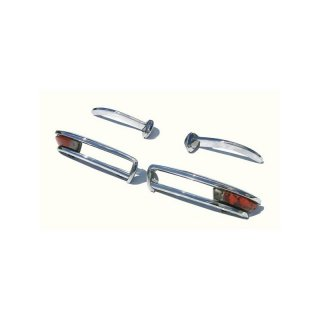 Stainless steel bumper set for Alfa-Romeo Duetto Spider, 1