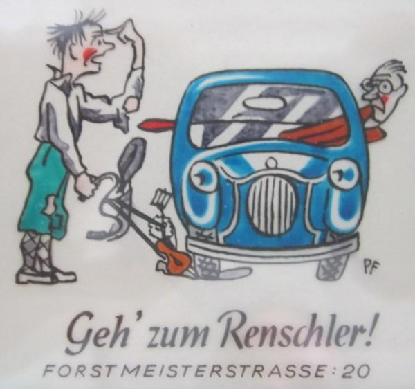 Geh`zum Renschler!
