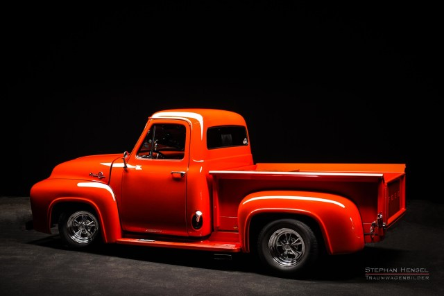 Ford F100, Pick-Up Truck von hinten links. Oldtimer Fotograf: Stephan Hensel, Hamburg