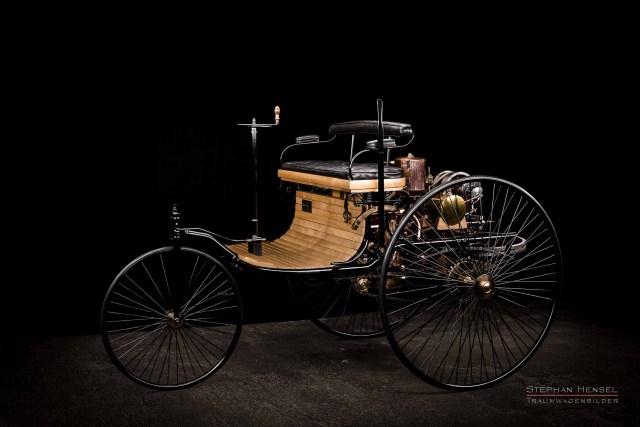 Benz Patent-Motorwagen Nr.1, Oldtimerfotograf: Stephan Hensel, Hamburg, Oldtimer, Fotograf, das erste Auto der Welt
