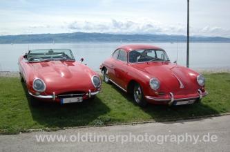 Jaguar E-Type & Porsche 356