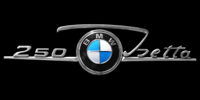 Logo BMW Isetta 250 Schriftzug ab 1959