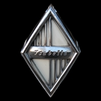 Logo Borgward am Kühlergrill einer Isabella