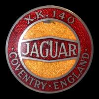 Logo Jaguar XK 140 (1954-1957)