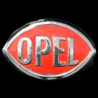Logo Opel P4 Bauzeit 1935–1937