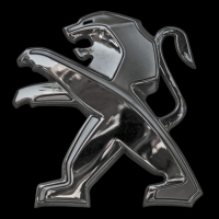 Logo Peugeot ab 2010 zum 200. Geburtstag