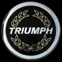 Logo Triumph auf Spitfire Mk3