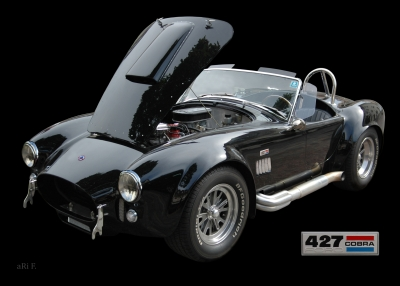 Shelby Cobra 427 Poster in original color