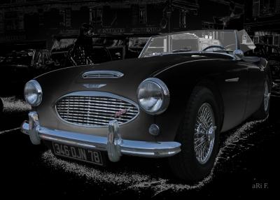 Austin-Healey 3000 Mk 2 in black & black