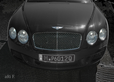 Bentley Continental GT Speed all in black