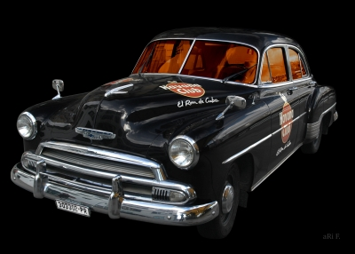 Chevrolet Deluxe with Havanna Club in black
