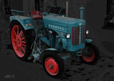 Hanomag R16 A in darkgrey