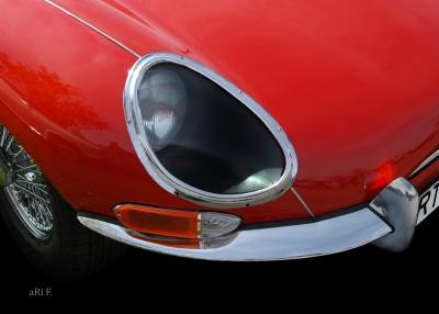 Jaguar E-Type (Orignalfoto)