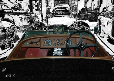 Jaguar XK 120 Roadster RH ... Interieur