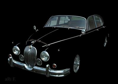 Jaguar Mark 2 2.4 Litre kaufen Poster