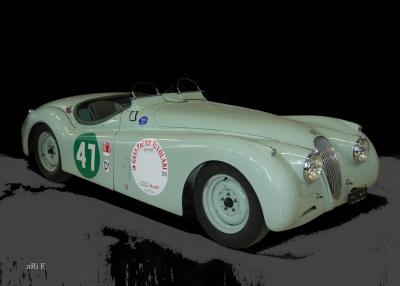 Jaguar XK 120 Roadster for racing 01