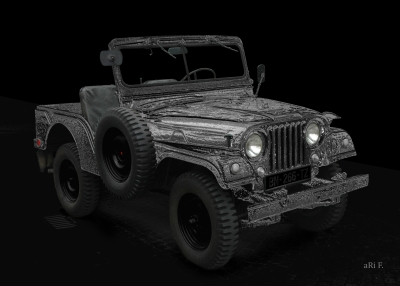 Willys Jeep M38 Typ A1 Poster kaufen