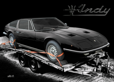 Maserati Indy Coupé in black