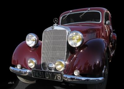Mercedes-Benz Typ 170 V (W 136) Poster in Originalfarbe