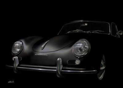 Porsche 356 Poster Design-Ikone technische Daten