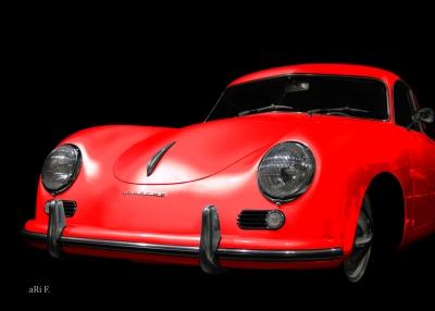 Porsche 356 Werbung Advertising Publicité