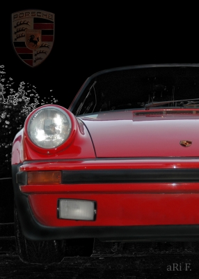 Porsche 911 G-Modell Poster in original colors