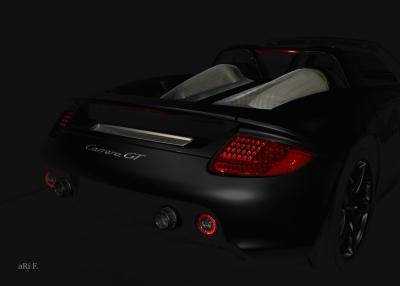 Porsche Carrera GT (Typ 980) Psoter in black