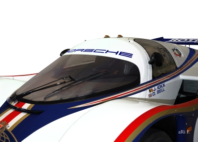 Rothmans Porsche 956 LH Poster and Le Mans Winner