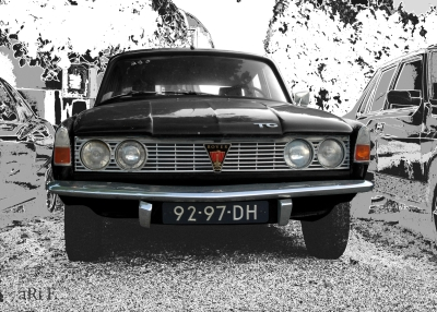 Rover P6 2000 TC (a car from Gracia Patricia von Monaco)