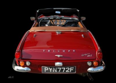 Triumph Spitfire Mk3 in Originalfarbe