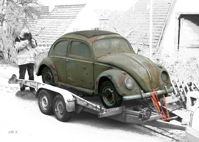 VW Käfer, Typ 11 Poster