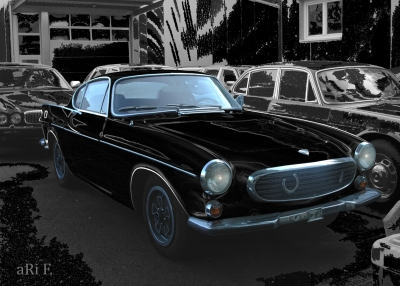 Volvo P1800 Poster