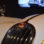 Jaguar XK 140 Kühlergrill Detailansicht