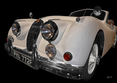 Jaguar XK 140 Poster for sale
