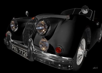 Jaguar XK 140 Poster for sale