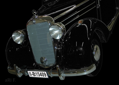 Mercedes-Benz 170 S (W136 IV) in black