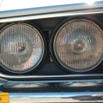 Opel Manta A, Frontscheinwerfer