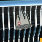 Opel Rekord P2, mit Alt-Opel Plakette auf dem Kühlergrill
