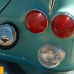 Opel Rekord P1 Pick-up, Detail Rücklichter