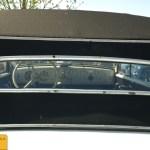 Opel Super 6 Cabriolet, Heckansichtnsicht auf Interieur