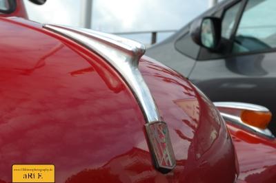 Fiat Topolino C, Motorhaube mit NSU-Fiat Logo