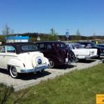Opel-Parade beim Erwin Hymermuseum