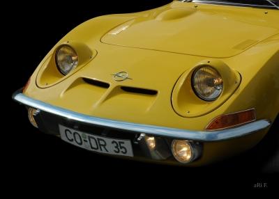 Opel GT. Nur fliegen ist schöner! Poster
