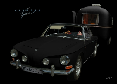 VW Karmann-Ghia Typ 34 kaufen in black & darkblack