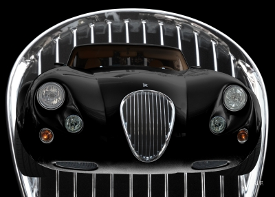 Wiesmann Roadster MF3 Poster in darkblack