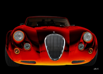 Wiesmann Roadster MF3 in front black & red